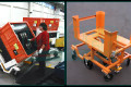 Topper Industrial 60 degree Tilt Carts