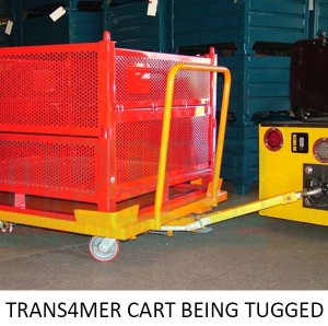 Transformer Cart Tugged. Topper Industrial