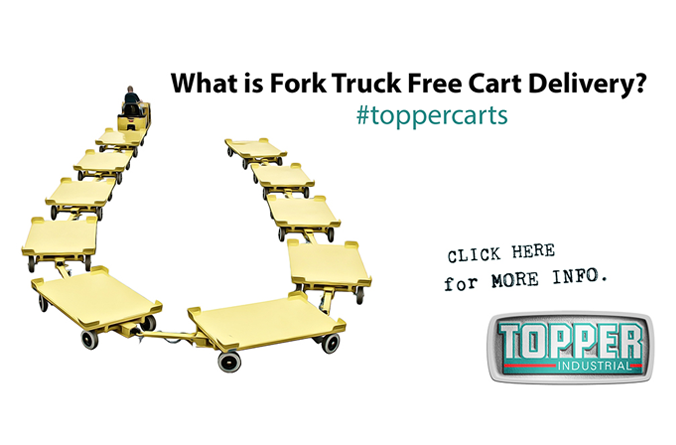 What is Fork Truck Free Cart Delivery?