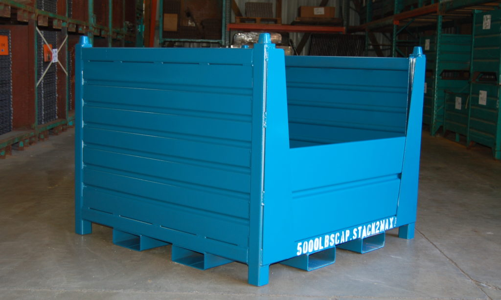 New Product Feature Release – Topper Industrial Heavy Duty Container with Removable Sides